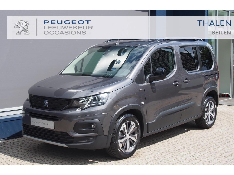"""Peugeot Rifter Gt 130pk eat8 automaat nu € 7750 demovoordeel navi/2x schuifdeur/17"""" lmw/camera/climate control - zeer complete demo in de meest luxe uitvoering!"""
