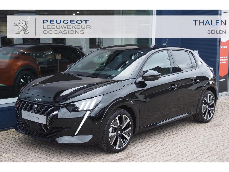 Peugeot 208 Gt 100pk eat8 automaat met ruim € 3000,- demovoordeel! zeer complete gt uitvoering mat navi/clima/led verlichting etc...
