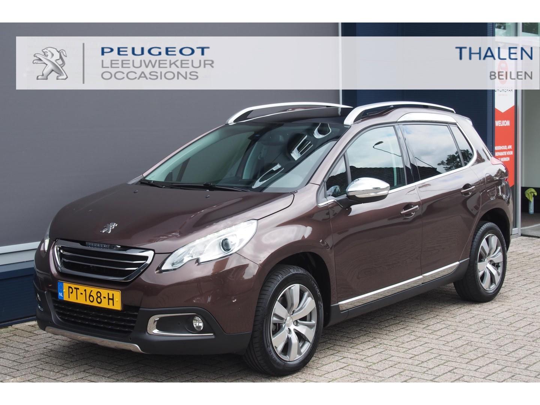 Peugeot 2008 1.6 e-hdi allure 120 pk 6-bak aantoonbaar 35.000 km!! zeer luxe en zuinige auto, als nieuw! met navi/clima/panodak/cruise control