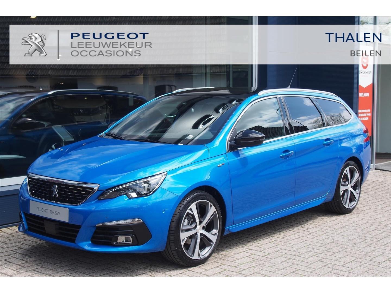 Peugeot 308 Sw gt pack 130pk 10-2020  ruim € 10.000,- demovoordeel  digitaal dashboard/keyless/navi/stoelverwarming etc. zeer compleet!