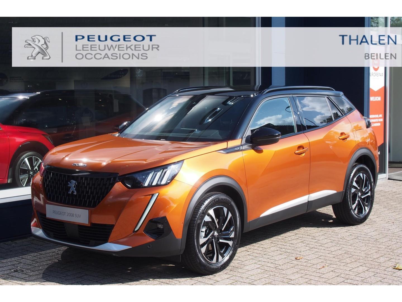 Peugeot 2008 Gt 130pk eat8 automaat € 4600,- demovoordeel! met navi/stoelverwarming/camera/led verlichting/adaptive cruise - zeer complete demo van 05-2021