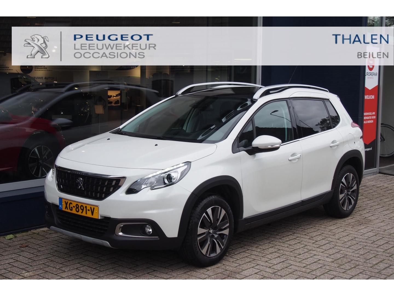 Peugeot 2008 Allure 110 pk turbo trekhaak 1250 kg/ navigatie / panorama dak/ parkeerhulp / zeer compleet en in nieuwstaat !