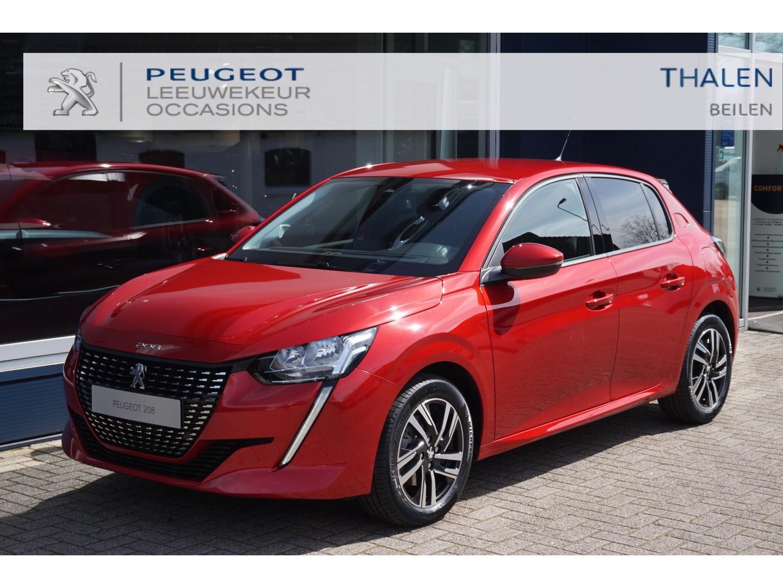 Peugeot 208 Allure pack 100pk eat8 automaat nu € 4250 demovoordeel - met navi/led verlichting/clime/camera - zeer complete demo van 03-2021!