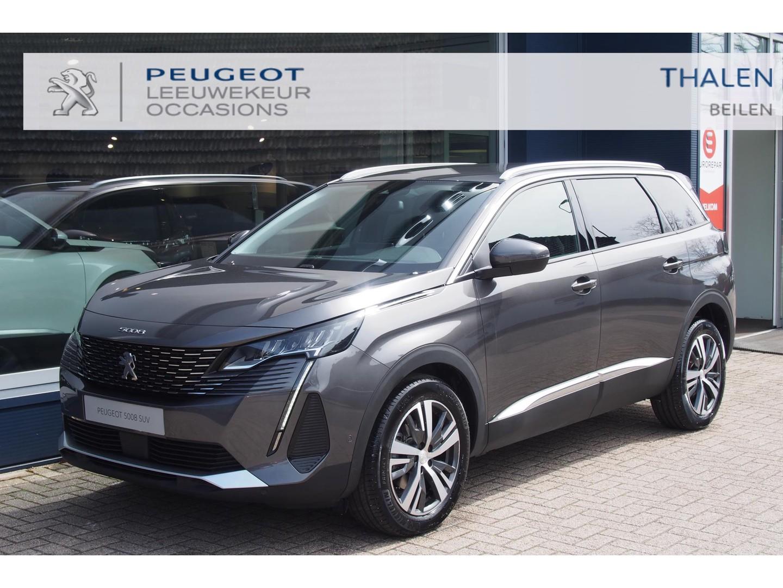 Peugeot 5008 Allure pack 130pk nieuwste model nu met € 6600 demovoordeel - met navi/camera/stoelverwarming/7 zitplaatsen - zeer complete demo van 06-2021