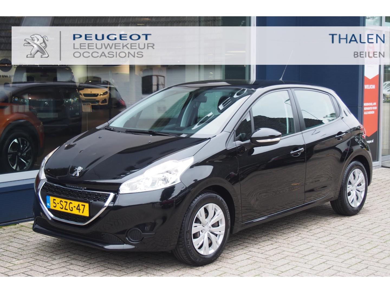 Peugeot 208 1.2 vti met airco en cruise control en slechts 80.000 km!