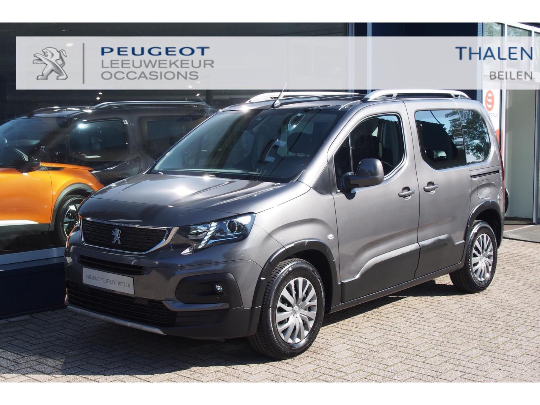 Peugeot Rifter Allure 130pk eat8 automaat nu € 7250 demovoordeel - met 2x zijschuifdeur/clima/navi/camera - zeer complete demo van 06-2021