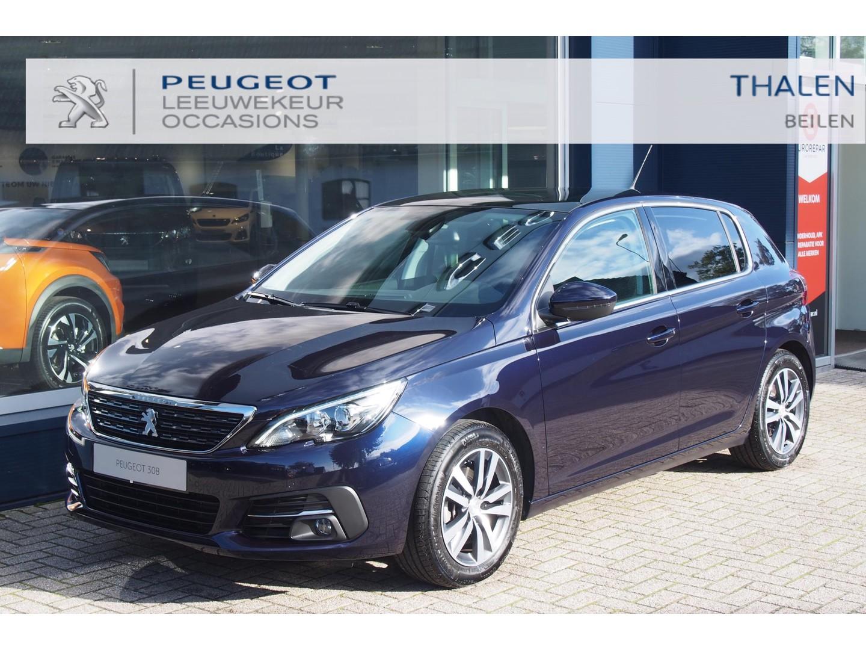 Peugeot 308 1.5 bluehdi 130pk eat8 automaat allure met trekhaak/navi/panodak/camera/dab+/enz... supercomplete en zuinige auto