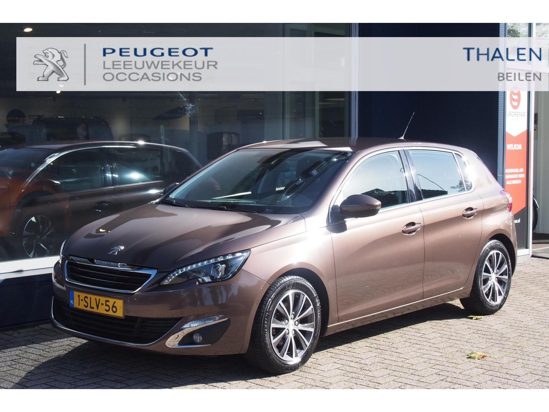 Peugeot 308 Allure 1.6 125pk keurige auto van 1e eigenaar met slechts 54.000km! met navi/trekhaak/led verlichting - zeer compleet!