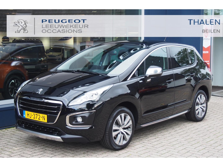 Peugeot 3008 Style 130pk turbo met panodak/navigatie/camera/climate control - zeer luxe en complete auto - extreem netjes!