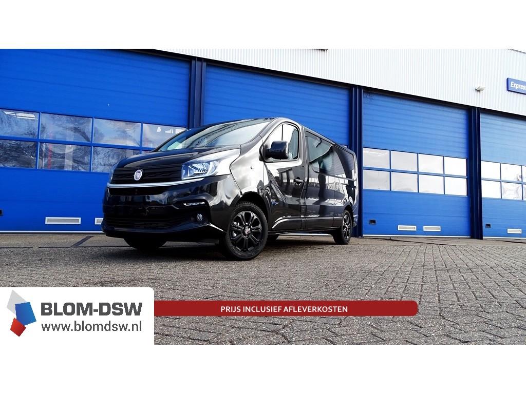 Fiat Talento Zwart dubbele cabine