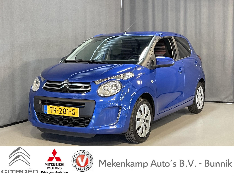 Citroën C1 1.0 vti feel 5drs etg airco/bluetooth/radio/dab/getinte ramen achter