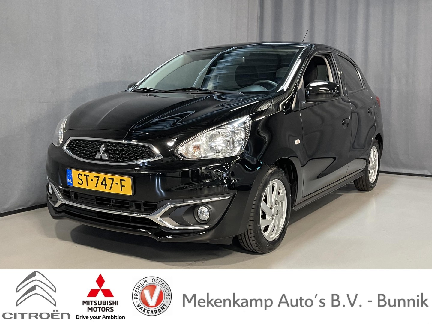 Mitsubishi Space star 1.2 connect pro navigatie/cruise/bluetooth/airco