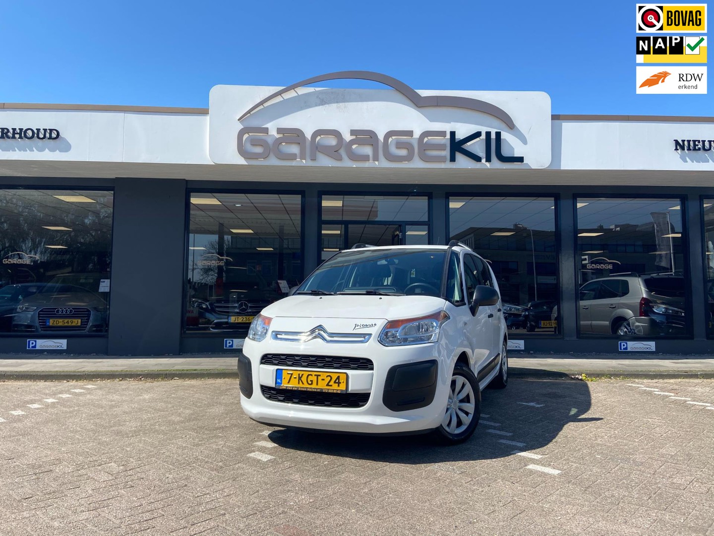 Citroën C3 picasso 1.4 vti attraction, orig. nl, 2de eig. trekhaak, zeer nette auto
