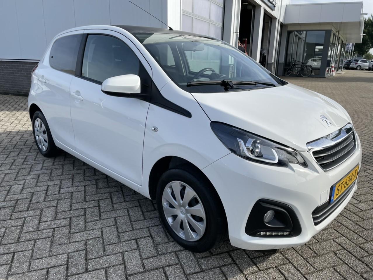 Peugeot 108 72 pk 5 drs rijklaar prijs