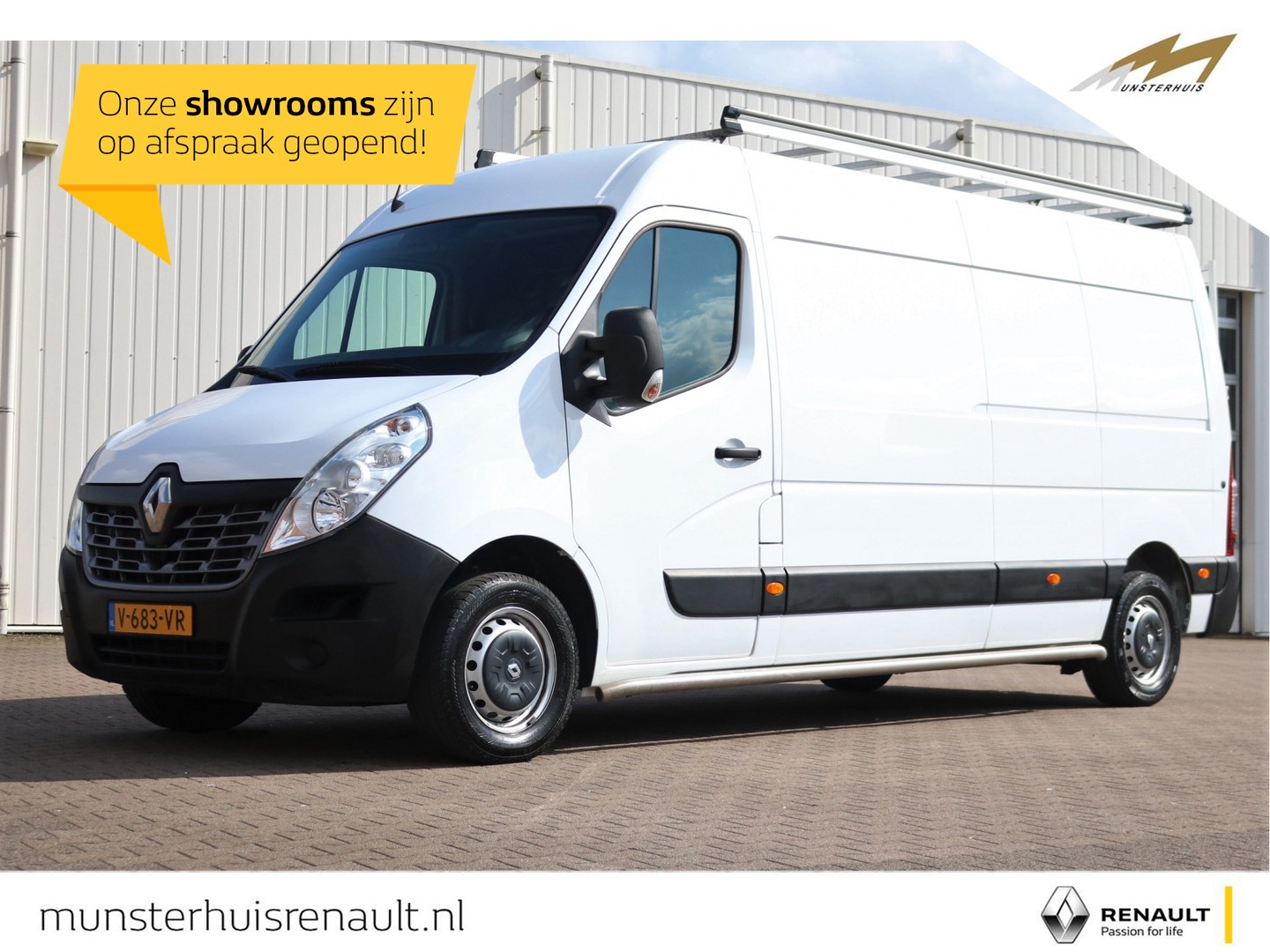 Renault Master L3h2 t35 energy dci 145tt fwd - side bars - imperiaal