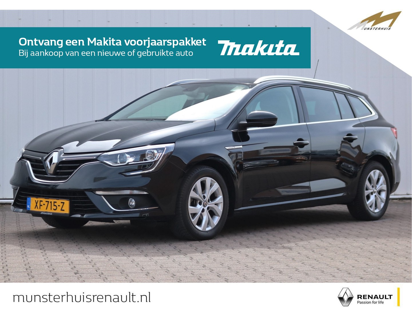 Renault Mégane Estate tce 140 limited - all-season banden