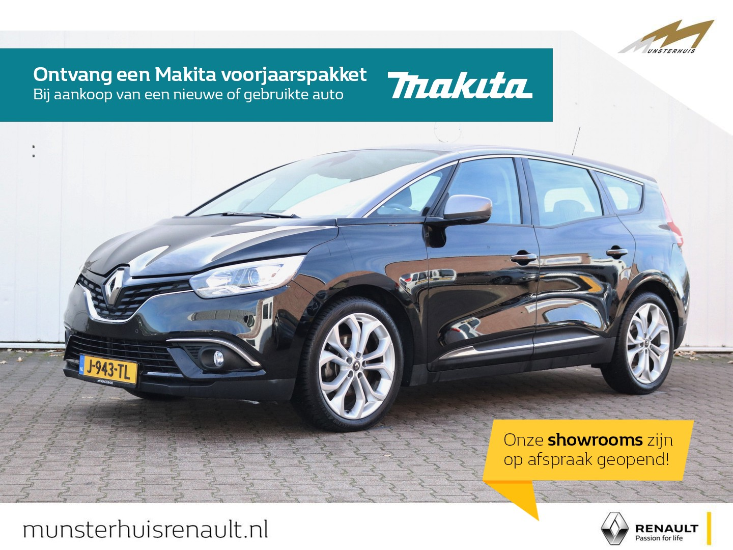 Renault Grand scénic Tce 140 edc sport edition -7 persoons - all-seasonbanden