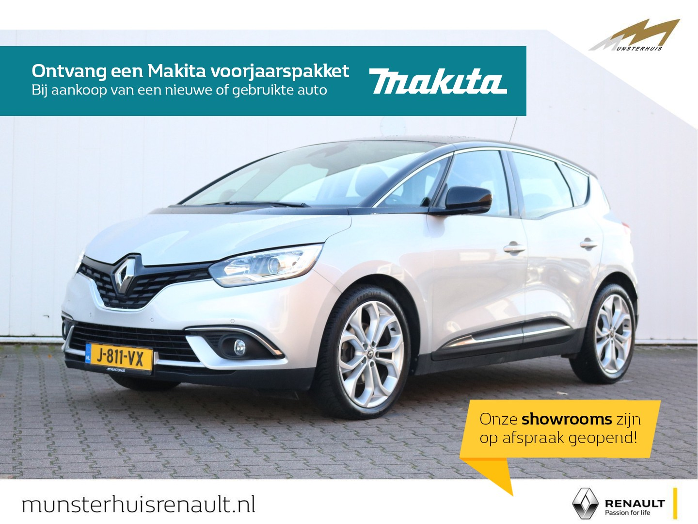 Renault Scénic Tce 140 edc limited - automaat - all-season banden