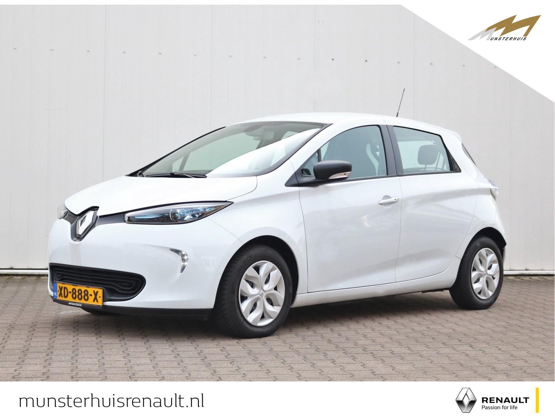 Renault Zoe R90 life 41 kwh - 4% bijtelling - batterijkoop - €2.000,- overheidssubsidie