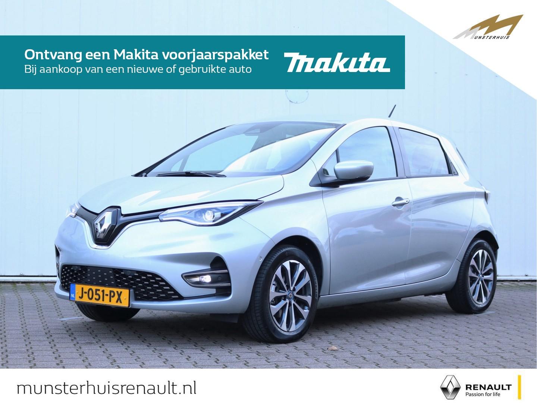 Renault Zoe R135 intens 50 z.e. 50 - 8% bijtelling - batterijkoop - €2.000,- overheidssubsidie