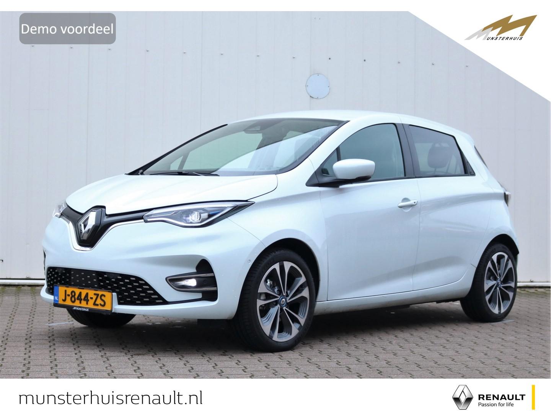 Renault Zoe R135 intens z.e. 50 - 8% bijtelling - demo - batterijkoop - stoelverwarming - 17 inch velgen