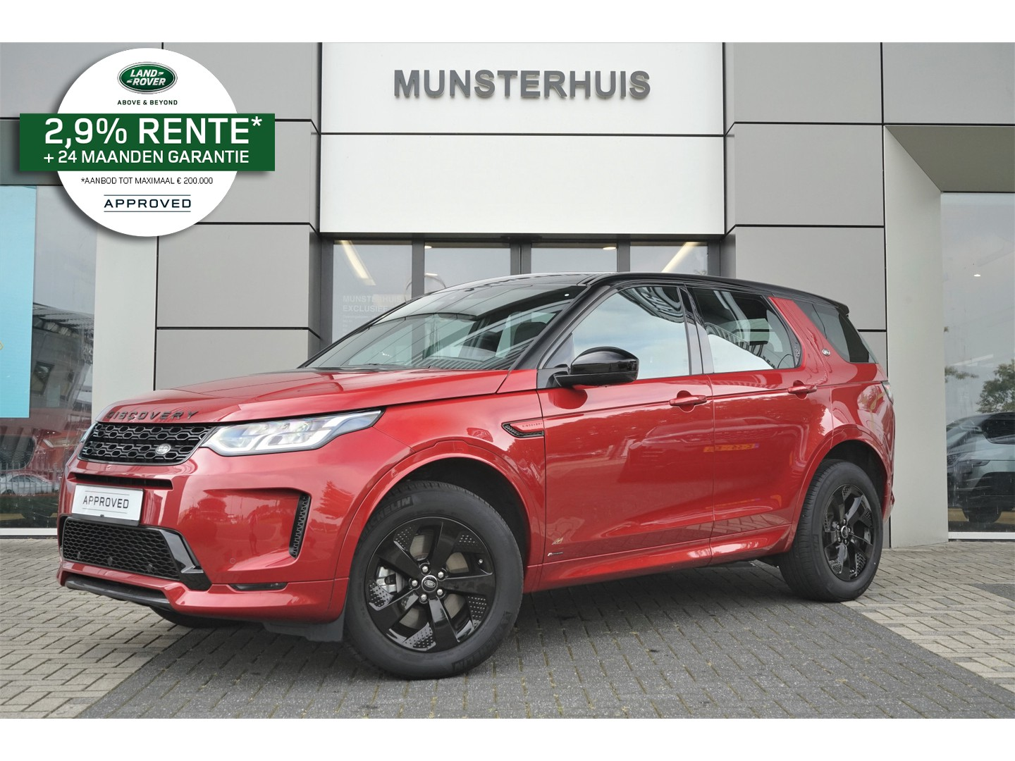 Land rover Discovery sport P200 2.0 r-dynamic s