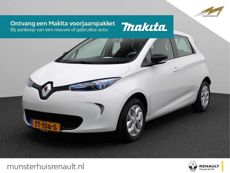 Renault Zoe R90 life 41 kwh - batterijkoop - €2.000,- overheidssubsidie -