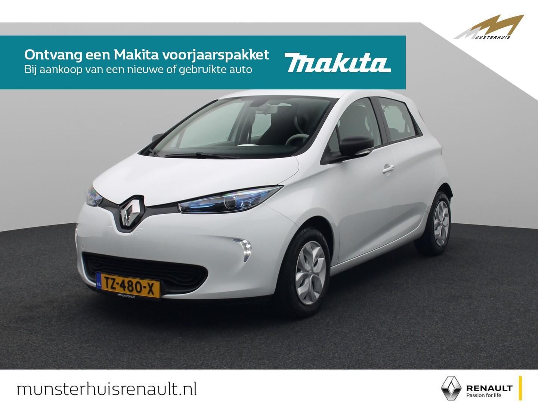 Renault Zoe R90 life 41 kwh - 4% bijtelling - batterijhuur - €2.000,- overheidssubsidie -