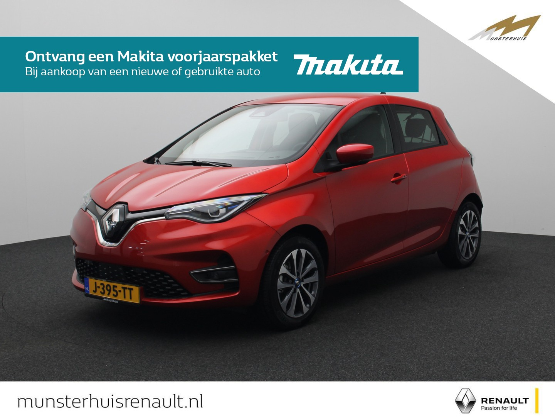 Renault Zoe R135 intens z.e. 50 - 8% bijtelling - demo - batterijkoop - €2.000,- overheidsubsidie -