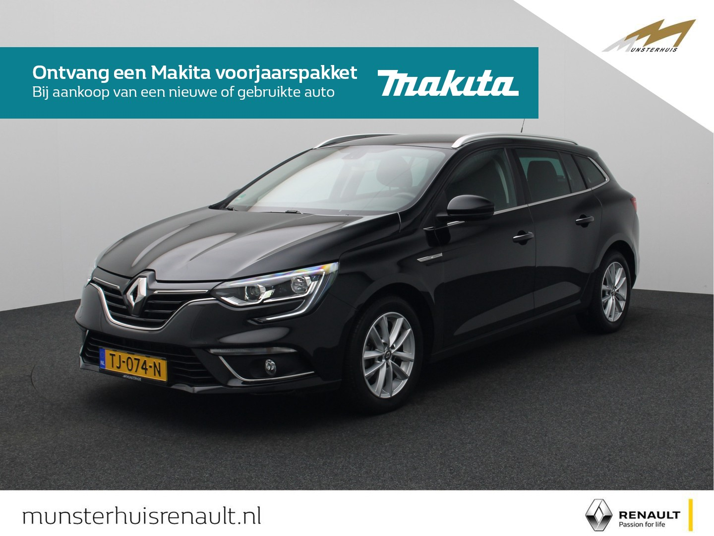 Renault Mégane Estate tce 130 limited - trekhaak -