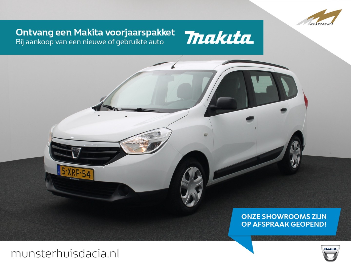 Dacia Lodgy Tce 115 ambiance - 7 persoons -