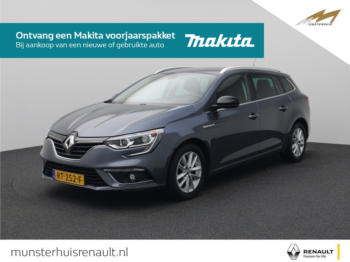 Renault Mégane Estate tce 100 limited - trekhaak -