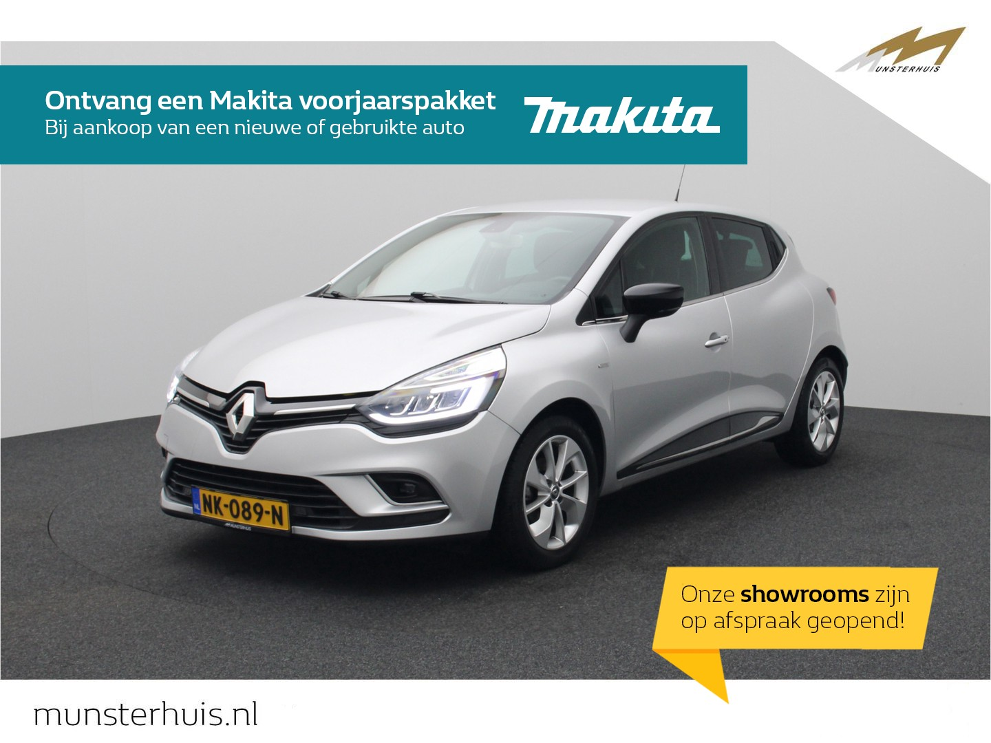 Renault Clio Tce 90 limited - full led - r-link - achteruitrijcamera -
