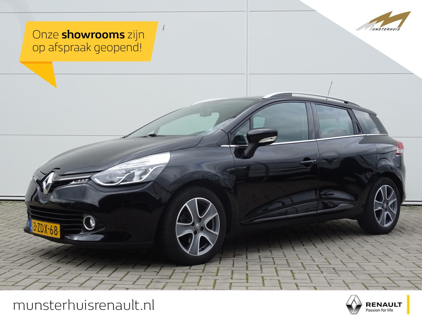 Renault Clio Estate energy tce 90 night&day - wordt in opdracht verkocht