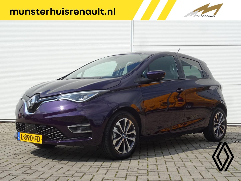 Renault Zoe R135 intens 50 z.e. 50 - 12% bijtelling - batterijkoop