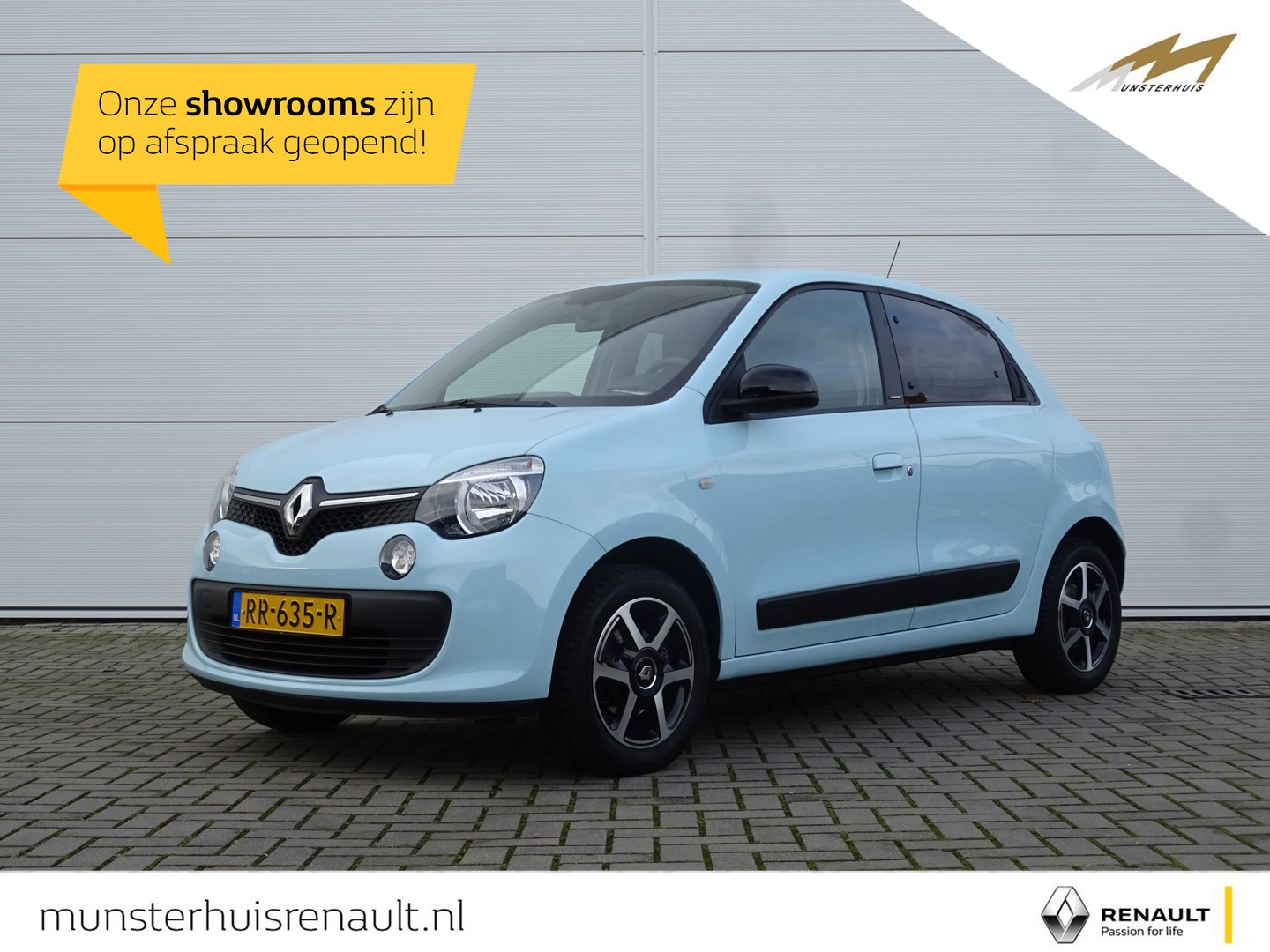 """Renault Twingo Sce 70 limited - 15"""" lm wielen - cruise control"""