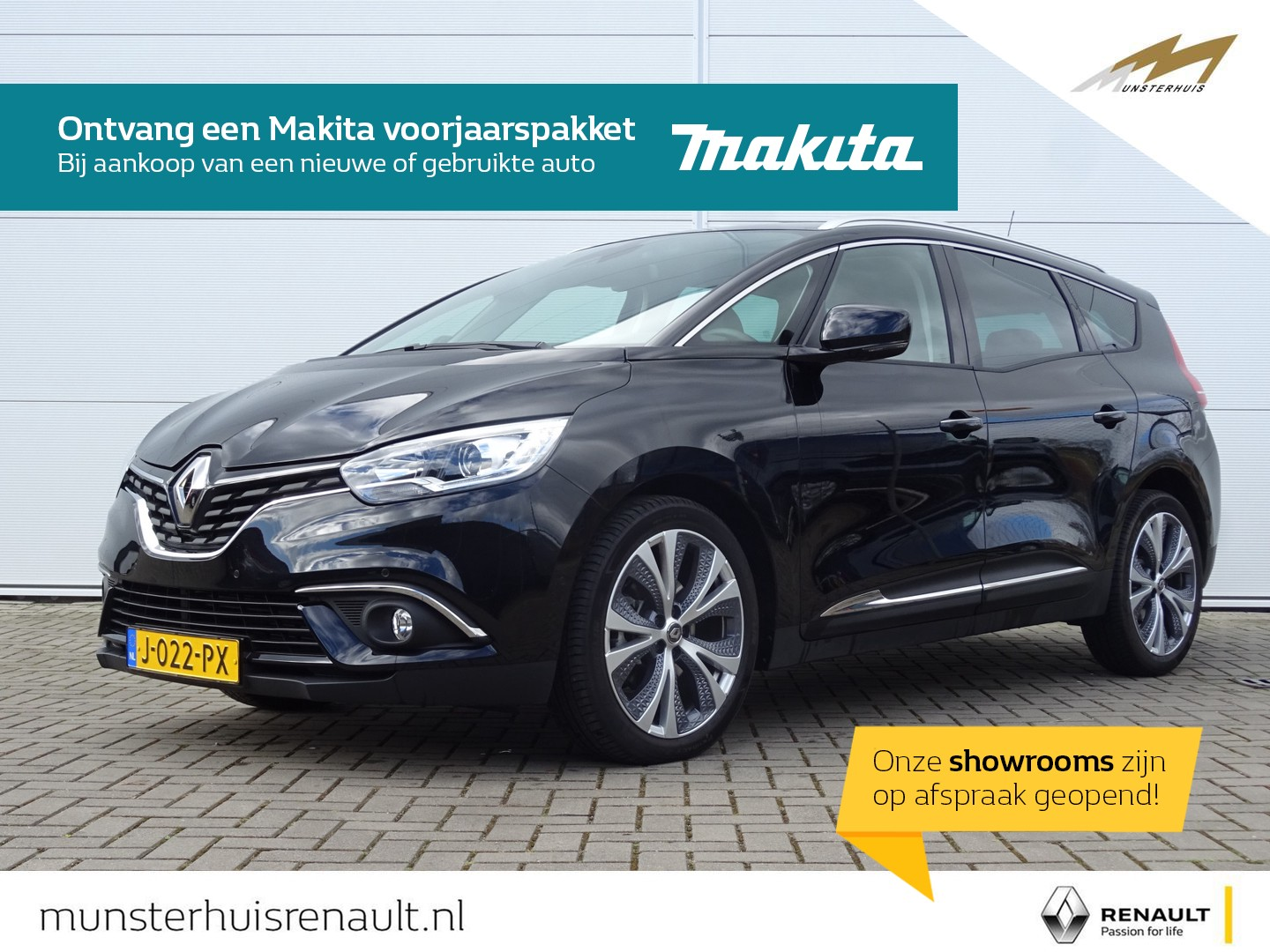 Renault Grand scénic Tce 140 edc intens - automaat