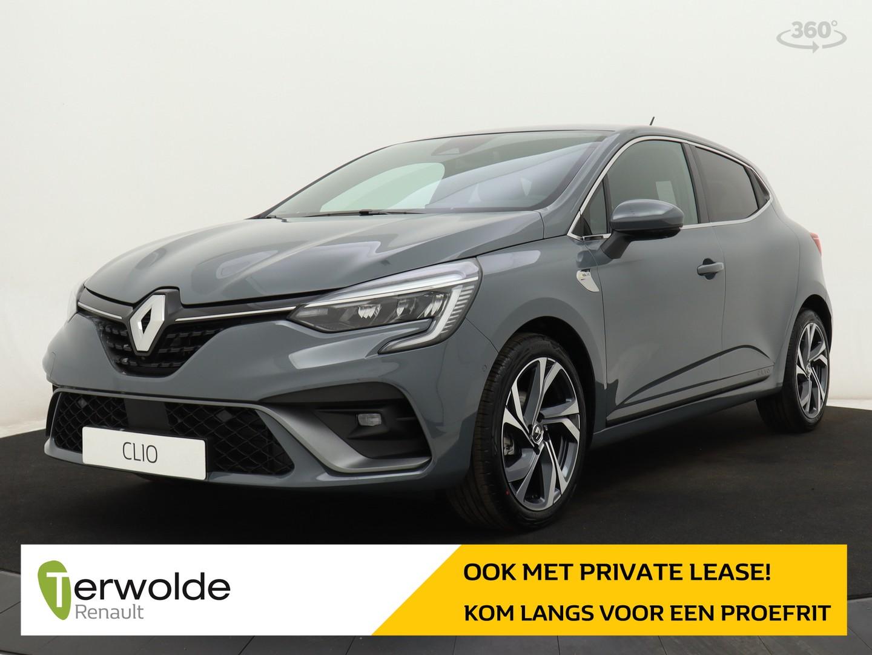 Renault Clio 1.0 tce r.s. line voorraad voordeel € 1.619,- korting