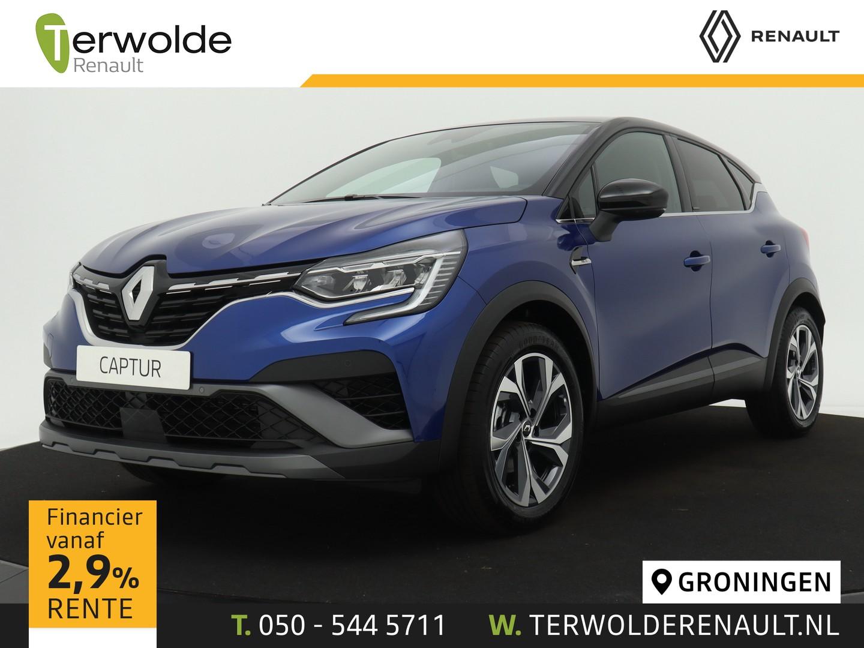 Renault Captur 1.6 hybrid r.s. line € 1.811,- korting! financiering tegen 2,9%! private lease mogelijk!