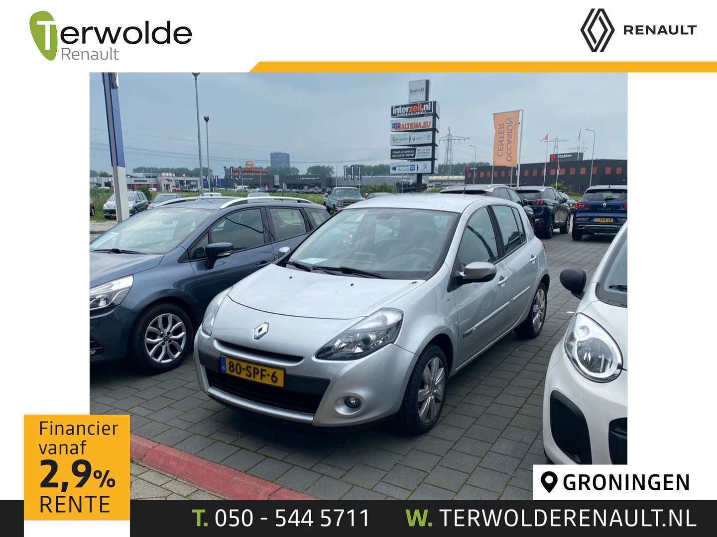 Renault Clio 1.6 16v 110pk night & day 26.895km! automaat!