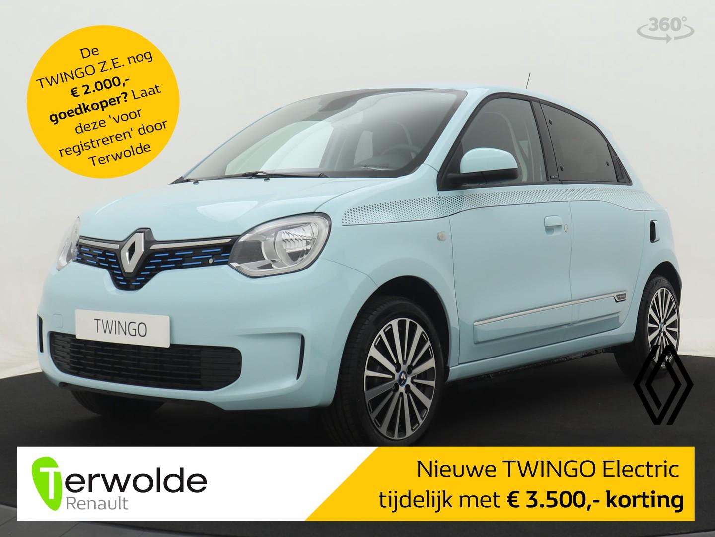 Renault Twingo Z.e. nu met €.3.500,- korting 80 intens - navigatie, lichtmetalen velgen, achteruitrijcamera incl batterij/accu op deze auto
